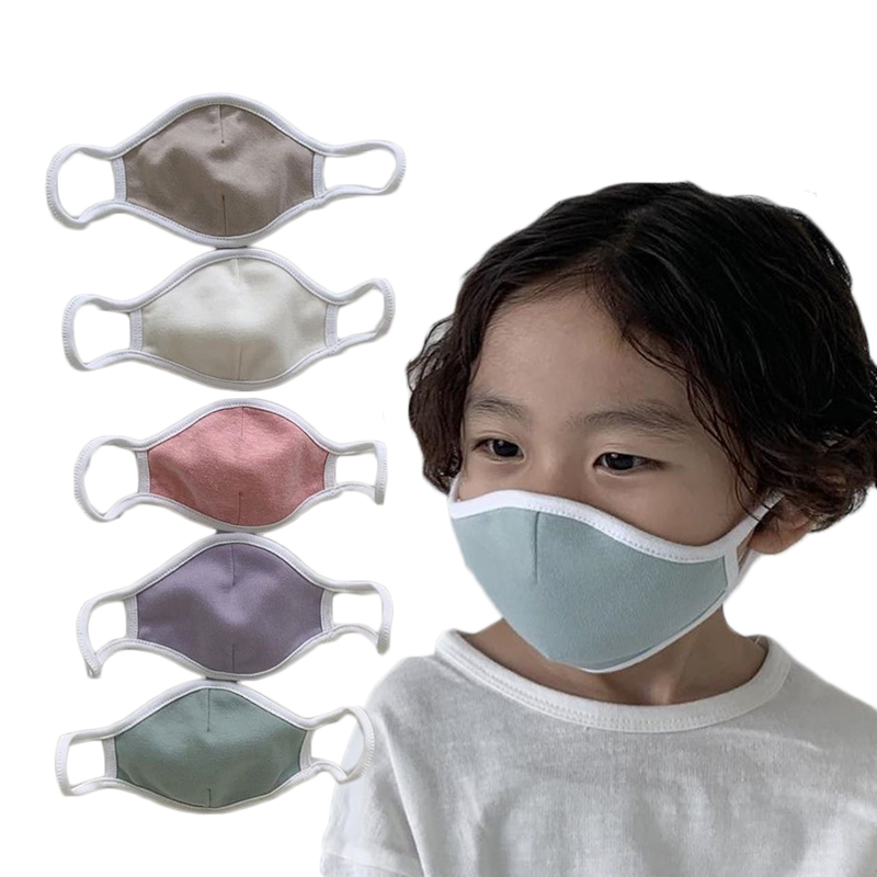 Child Adult Cotton Mouth Mask Anti Dust Pollution Washable Pm2.5 Face Mask Reusable Windproof Effortless Breathable
