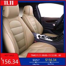 Автомобильное сиденье kokololee из натуральной кожи на заказ для vw golf 4 5 VOLKSWAGEN polo 6r 9n passat b5 b6 b7 Touareg Tiguan, автомобильные сиденья