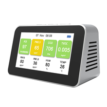 Detector PM10 CO2 DM601 PM2.5 Temperature-Humidity-Monitor TVOC Multi-Function Particle
