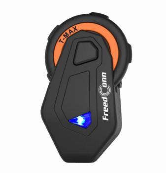 FREECONN Waterproof  Motorcycle Intercom Helmet Headset 6 people connect Helmet Speaker Interphone Moto Headset Intercom 1500M