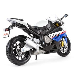 Image 3 - Maisto 1:12 BMW S 1000 RR Литой Транспортных средств Коллекционная хобби модель мотоцикла, игрушки