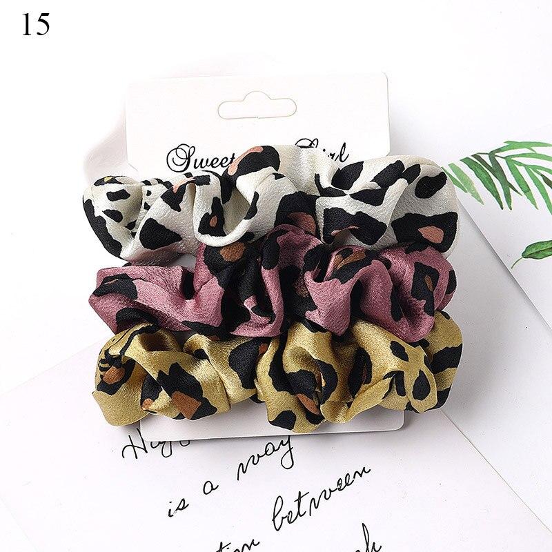 1 комплект резинки для волос кольцо для волос карамельного цвета Веревка для волос осень-зима женский хвостик аксессуары для волос 4-6 шт. ободки для девочек Подарки - Color: A15