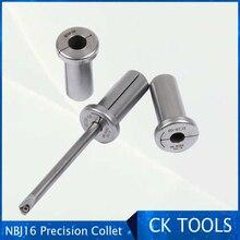 Collet für NBJ16 ec wolfram bar ärmeln NBJ10 NBJ16 boring cutter collet DBJ wolfram stahl stange collet für die einstellbare sets