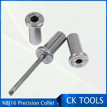 collet for NBJ16 ec tungsten bar sleeves NBJ10 NBJ16 boring cutter collet DBJ tungsten steel rod collet for the adjustable sets