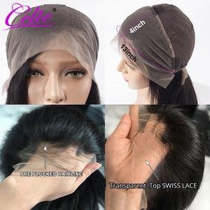 Image 2 - Celie Haar HD Transparent Spitze Perücke 180 250 Dichte Spitze Front Menschliches Haar Perücken Körper Welle Perücke Für Schwarze Frauen menschliches Haar Perücken