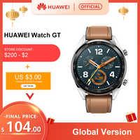 W magazynie wersja globalna zegarek huawei GT Smart Watch 1.39 ''ekran amoled 14 dni żywotność baterii 5ATM wodoodporny pulsometr