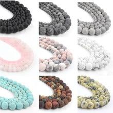 21 perles en pierres naturelles, vernis mat et terne, Agata Picasso Howlite, Quartzs, pour la fabrication de bijoux, Bracelet à bricoler soi-même perles minérales