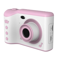 Children Camera 2.8 IPS Eye Protection Screen HD Touch Screen Digital Dual Lens 18MP Camera for Kids