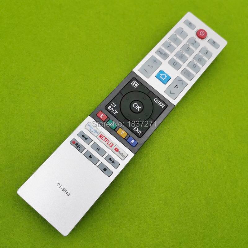 Image 2 - Новый пульт дистанционного управления для телевизора Toshiba 40L2863DG 32L3963DA 32L3863DG 32W2863DG 49L2863DG 49T6863DA 55U6863DA 55V5863DGПульты ДУ    АлиЭкспресс