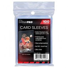 Manchons de cartes Ultra PRO transparents 35-100PT, contient des cartes de taille Standard, protège vos objets de collection contre les rayures pour MTG/TCG, 100 pièces/lot