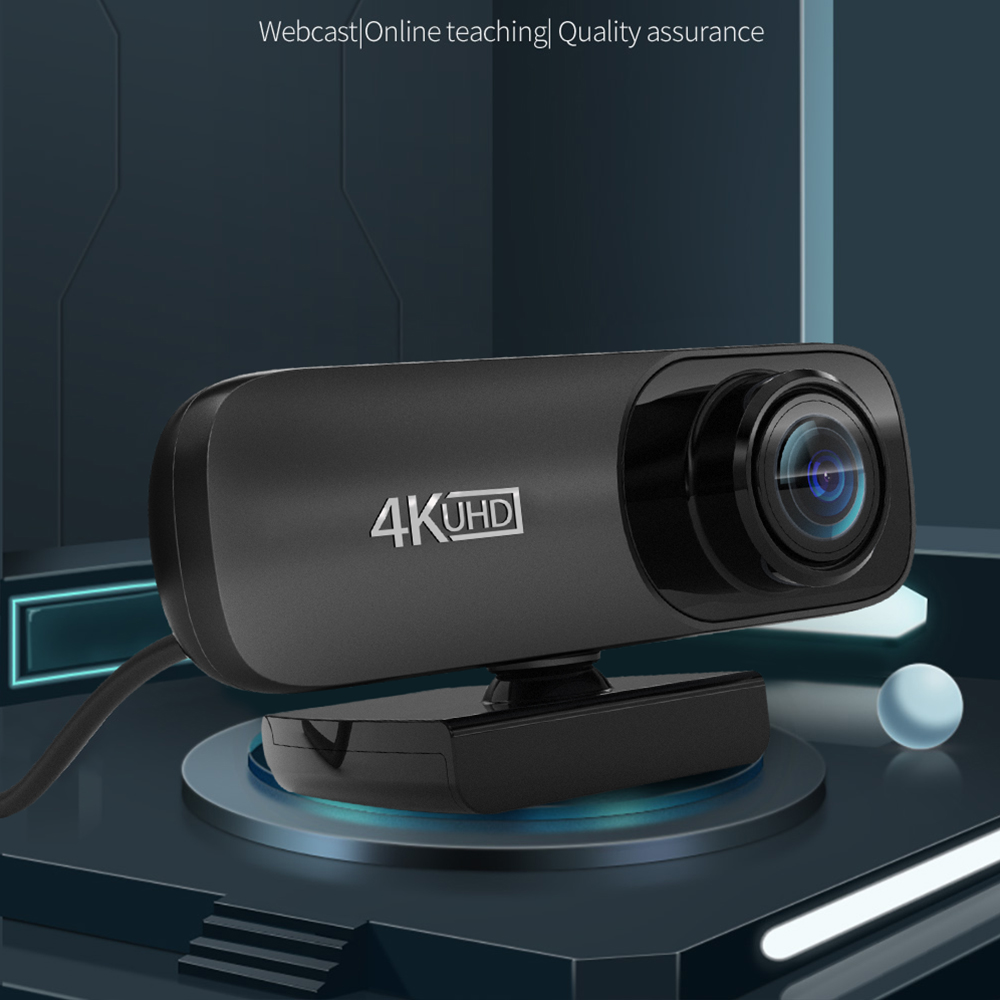 Best C170 2160P Webcam 4K UHD 3840*2160P Web Cam 800W Pixels Computer Camera 120° Wide Angle Web Camera with Microphone