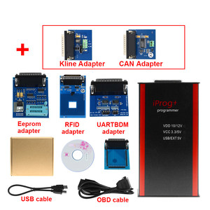 Image 3 - V85 Iprog+ Key Programmer Support IMMO + Mileage Correction + Airbag Reset Iprog Pro Till 2019 Replace Carprog with 7 adapter