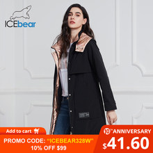 ICEbear 2020 New Women Coat Long Women Jacket Quality Women Coats Fashion Casual Women Clothing Brand Women Clothing GWC20727I(China)