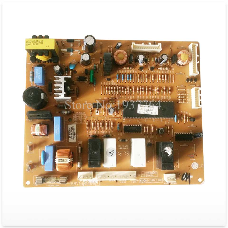 Buy refrigerator pc board Computer board 6871JB1109 mainboard used board good working for only 62 USD