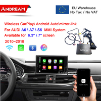 Wireless CarPlay Interface Box For AUDI A6/A7/S6 OEM Screen Upgrade MMI system multimedia CarPlay Decoder AirPlay