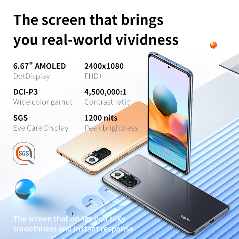 Redmi Note 10 Pro Smartphone