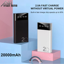 PINZHENG 20000mAh Power Bank For Xiaomi mi iPhone