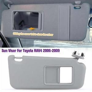 1 шт. для Toyota RAV4 2006 2007 2008 2009 2010 20112012 13 автомобильный внутренний передний левый/правый солнцезащитный козырек панель солнцезащитный козырек з...