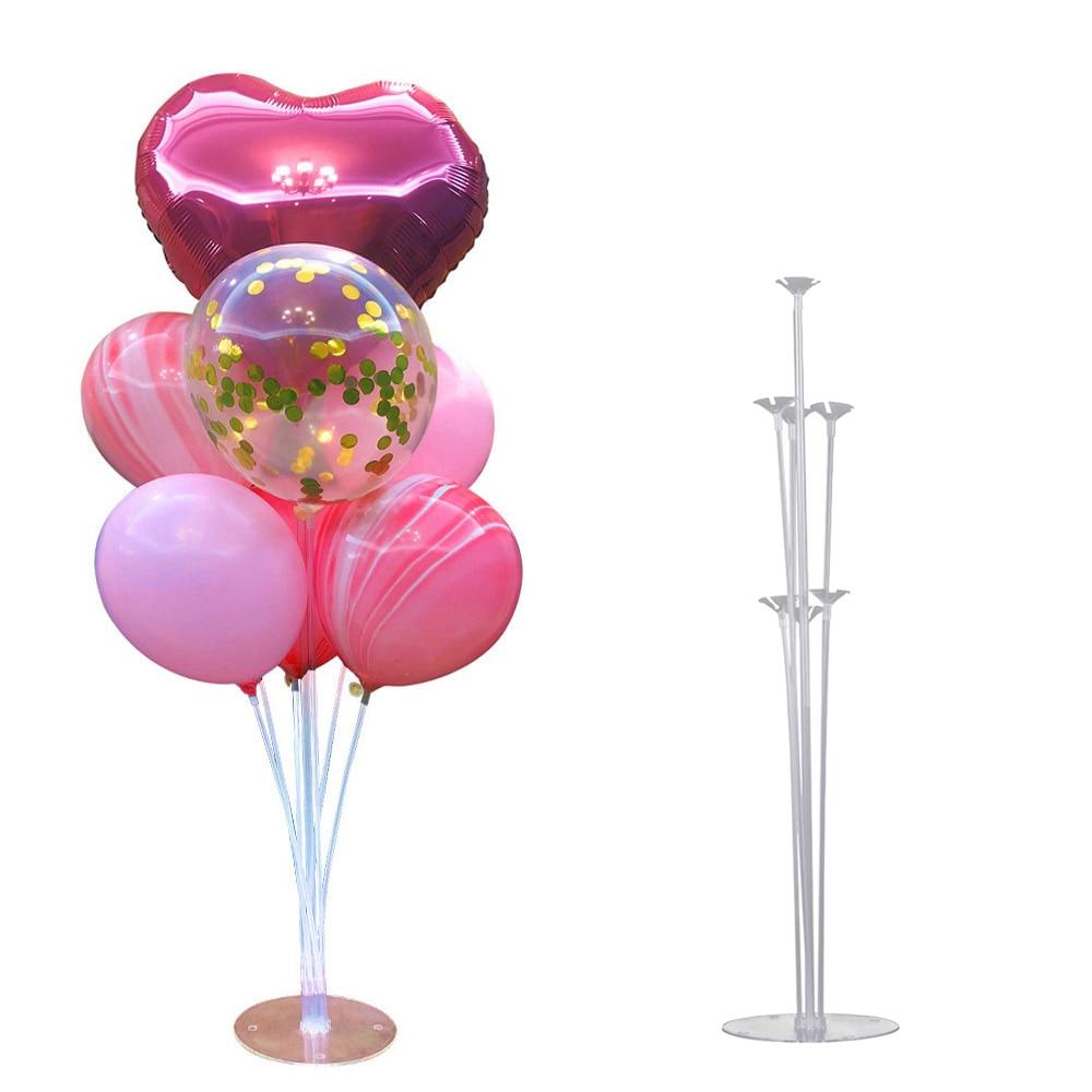 Birthday Party Balloon Stand Birthday Balloons Arch Stick Holder Column Plastic Balloon Stick Birthday Party Decorations Kids