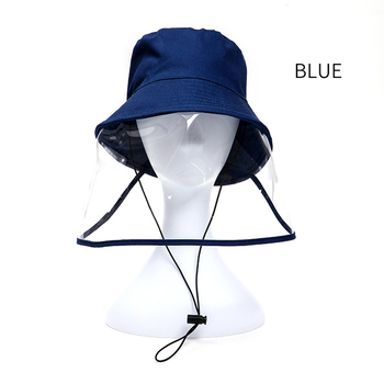 JULI Children Antibacterial Anti Fog Dust Cap 2 In 1 Hat For Kid Anti Flu Spittle Anti Dust Cover Full Face Eye Protect Hat Mask
