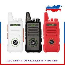 WLN KD C1 בתוספת UHF 400 470MHz מיני כף יד fm משדר KD C1plus שתי דרך רדיו חזיר communicator מכשיר קשר עם שלגון