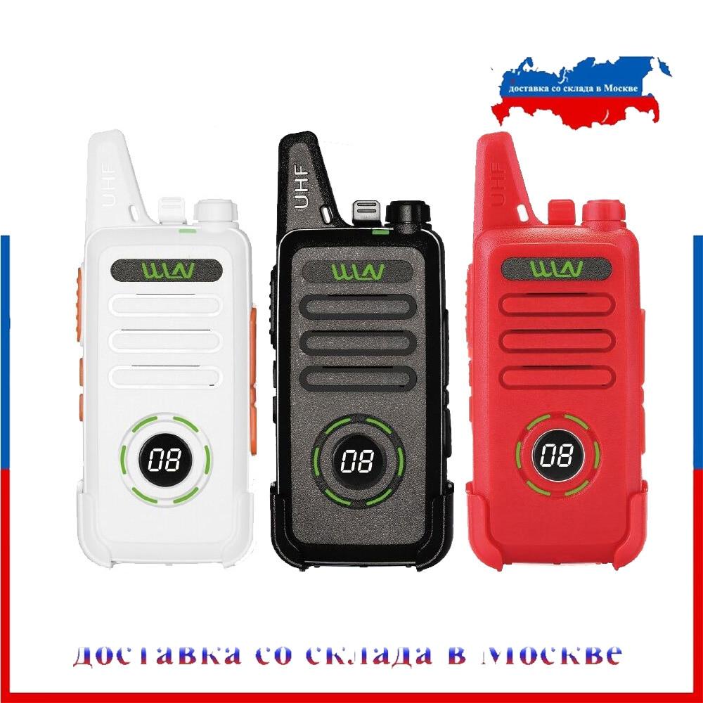 WLN KD-C1 Plus UHF 400-470MHz MINI Handheld Fm Transceiver KD-C1plus Two Way Radio Ham Communicator Walkie Talkie With Scrambler
