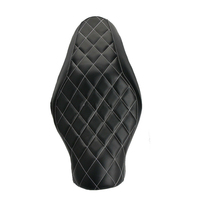 Motorcycle Diamond Driver Passenger Two Up Seat Cushion For Harley Forty Eight Sportster 883 Iron XL1200