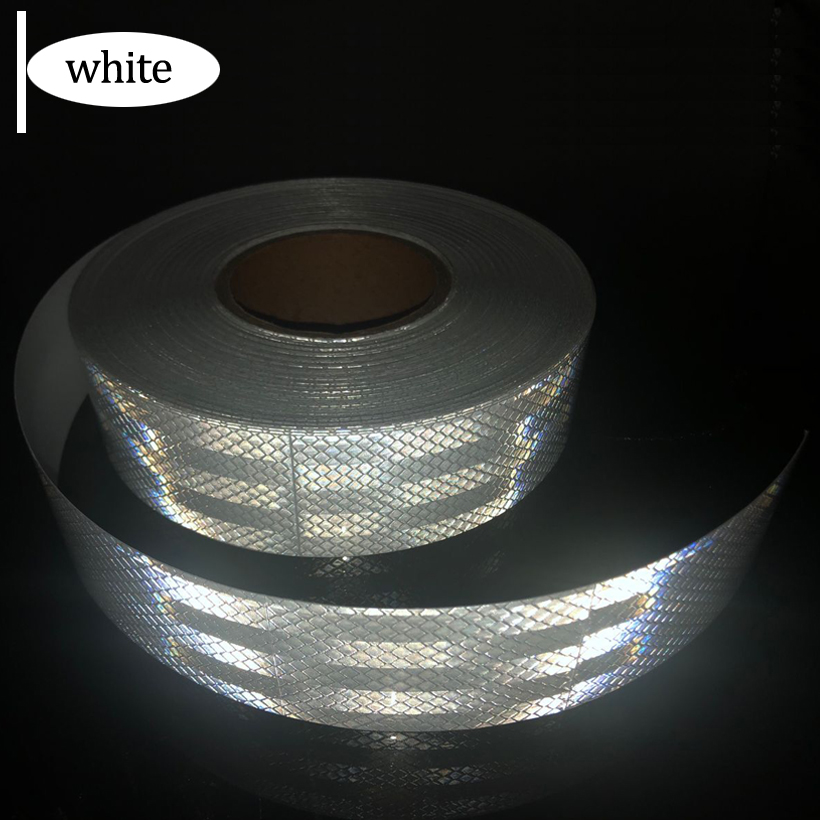 5cmx50m/Roll Reflective Stickers Frame Forks Protector Frame Car Motorcycle Sticker Car Accessories