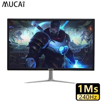 MUCAI 24 дюймов монитор компьютера Настольная компьютерная игра 240 Гц жидкокристаллический дисплей gamer HD индикаторной панели HDMI/DP
