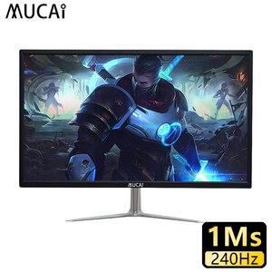 MUCAI 24 inch PC monitor desktop computer game 240Hz lcd display gamer HD Flat panel HDMI/DP