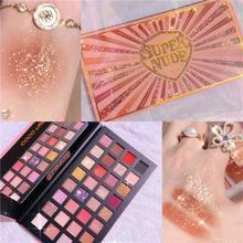 32 Colors Changeable Nude Eye Shadow Palette Eye Makeup Matte Shimmer Glitter Eyeshadow Powder Waterproof Comestic TSLM2