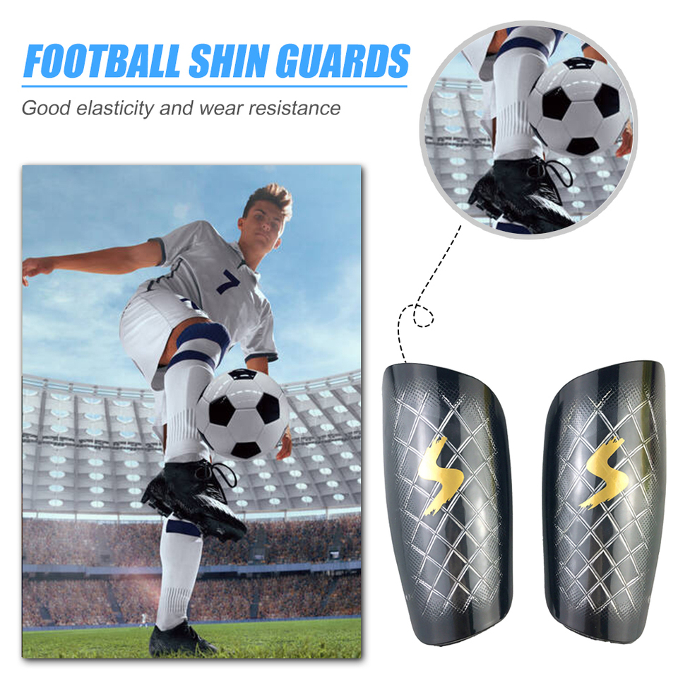 US $100.100 100% OFF10 Pair Soccer Shin Guard Pads Soccer Calf Protective  Shield Sleeves Football Accessories Outdoor Exercise Sport  EquipmentSoccers -