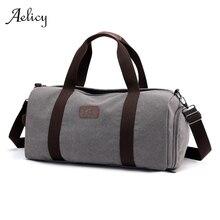Aelicy мужские дорожные спортивные сумки легкие багажные бизнес холщовые сумки женские уличные вещевые выходные через плечо Наплечная Сумка