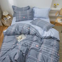 Cotton Bedding sets Home Bedding SetSet Luxury Bed Sheets Extra Soft 4 Piece including Flat Sheet,Fitted Sheet,and 2 Pillowcases