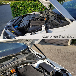 Image 5 - For 2012 2020 Skoda Octavia A7 MK3 Car styling Refit Bonnet Hood Gas Shock Lift Strut Bars Support Rod Accessories