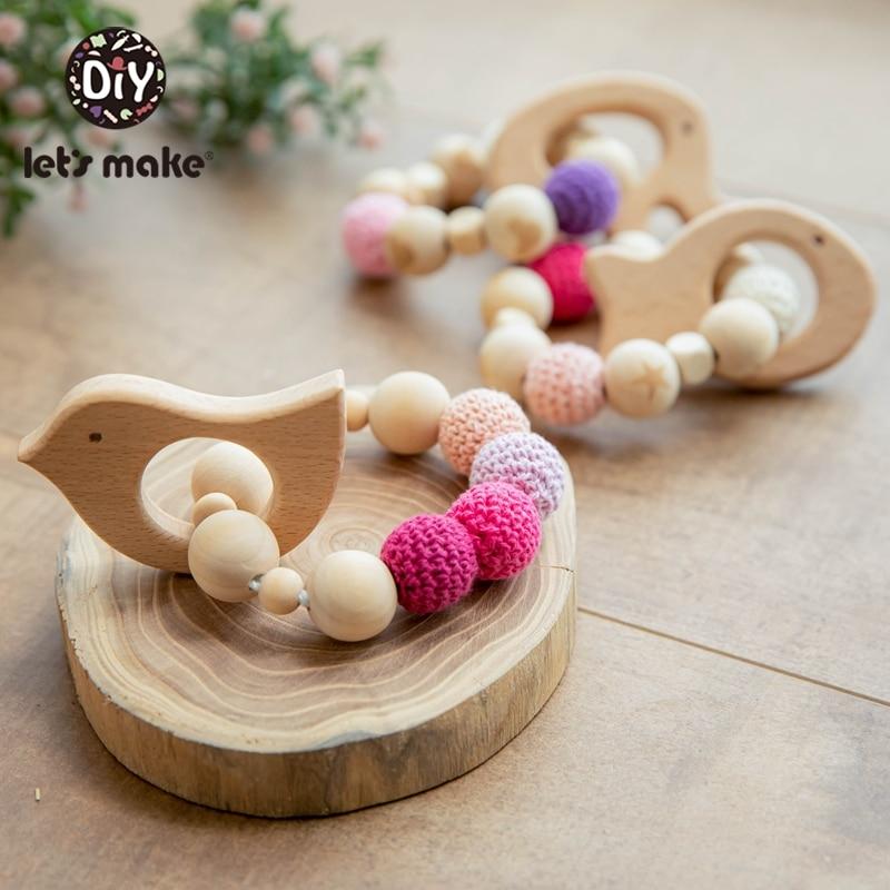 Napravimo 1kom drvene zube za ježeve kukičane kuglice drveni obrt - Igračke za bebe i malu djecu - Foto 5