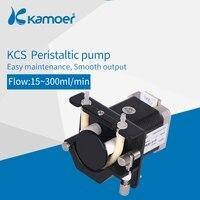 Kamoer KCS 24V/V Peristaltic Water Pump ( Stepper Motor, Digital Control, Long life, High Precision, BPT Tube)
