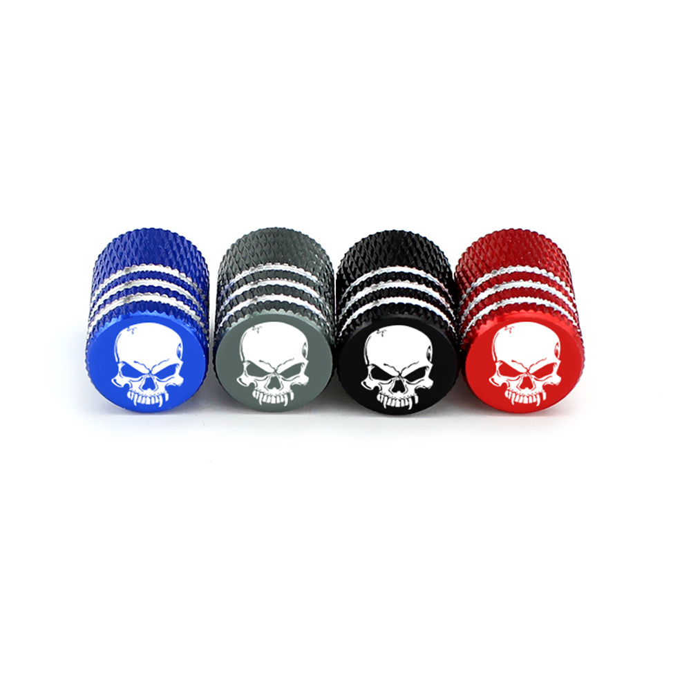 cheapest 4Pcs Aluminum Car Vehicle Wheel Tire Valve Stem Caps Dust Covers Auto Motorcycle Airtight Stem Bicycle Air Caps  Car Styling