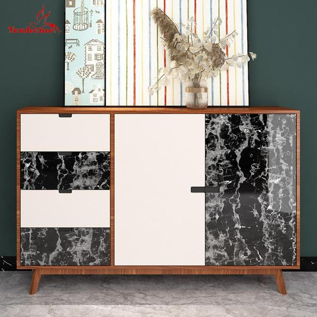 Waterproof Marble Self Adhesive Wallpaper Vinyl Film Wall Stickers Bathroom Kitchen Cupboard Room Decoration Sticky Paper Decal 4