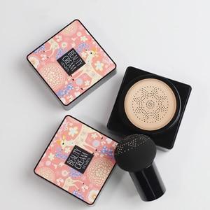 BB Air Cushion Foundation Korean Mushroom Head CC Cream Concealer Whitening Makeup Cosmetic Waterproof Brighten Face Base TSLM1