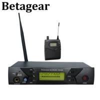 Betagear BK510 모노 이어 모니터 시스템 전문 무대 오디오 무선 마이크 수신기 uhf IEM 798-830MHz 무선 시스템