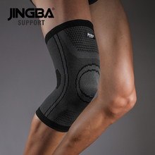 JINGBA SUPPORT 2019 Hot Sport Basketball knee pads Volleyball brace support Elastic Nylon Compression protector