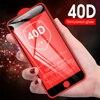 40d curvado cobertura completa de vidro protetor de tela temperado para o iphone se 2020 se2 eu telefone se2020 ise