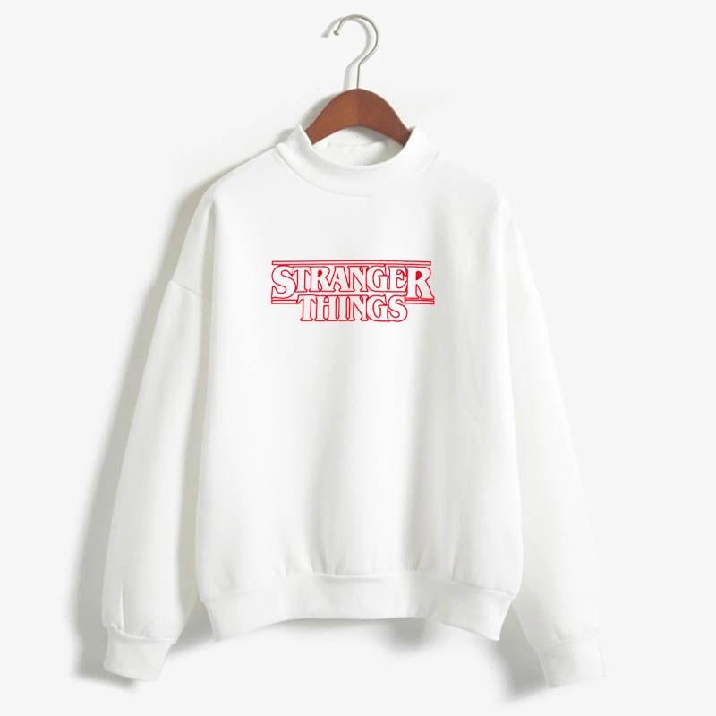 Stranger Things Official Television Series Men's Solid Logo Sweatshirt  Unisex STRANGER THINGS Hoodie - Stranger Things 22