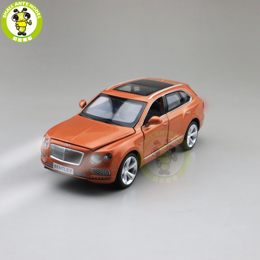 1/34 Bentayga SUV MSZ CAIPO Ben Tley Diecast Metal Model CAR Toys For Kids Children Sound Lighting Pull Back Gifts