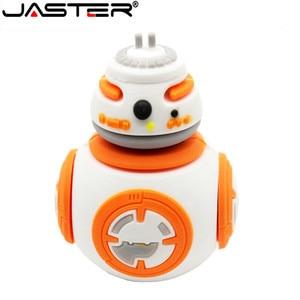 Image 3 - JASTER usb 플래시 드라이브 스타 워즈 펜 드라이브 4GB/8GB/16GB/32GB/64GB 스타 워즈 다크 다스 베이더 요다 pendrive 메모리 스틱 u 디스크