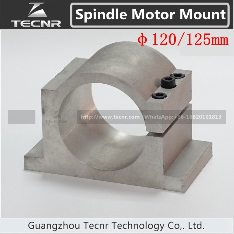 120MM 125mm Spindle Motor Mount Bracket Clamp For Water Cool Spindle Motor