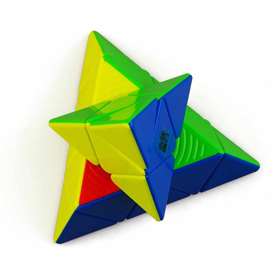 Yj Yulong V2M  кубик рубик Магнитный Магический кубик пирамиды, магниты Yongjun, треугольные Кубики- головоломки , скоростные кубики для детей, Подарочная игрушка
