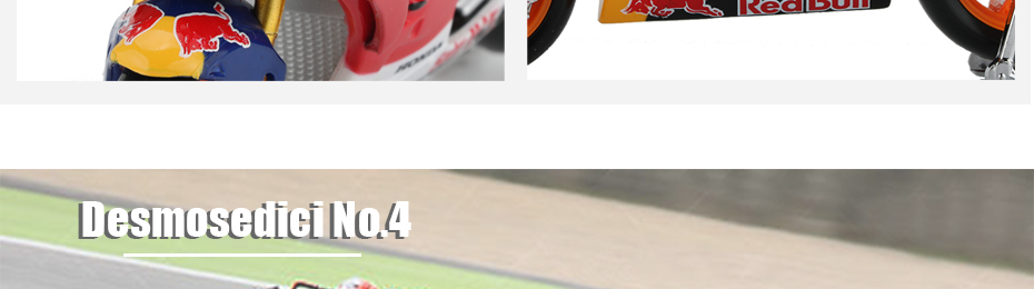 Moto GP Racing Motorcycle Toy Model Collection 47