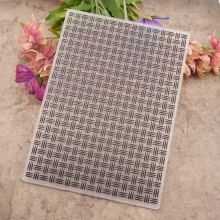 Background Decoration Plastic Embossing Folder For Scrapbook DIY Album Card Tool Plastic Template 0423